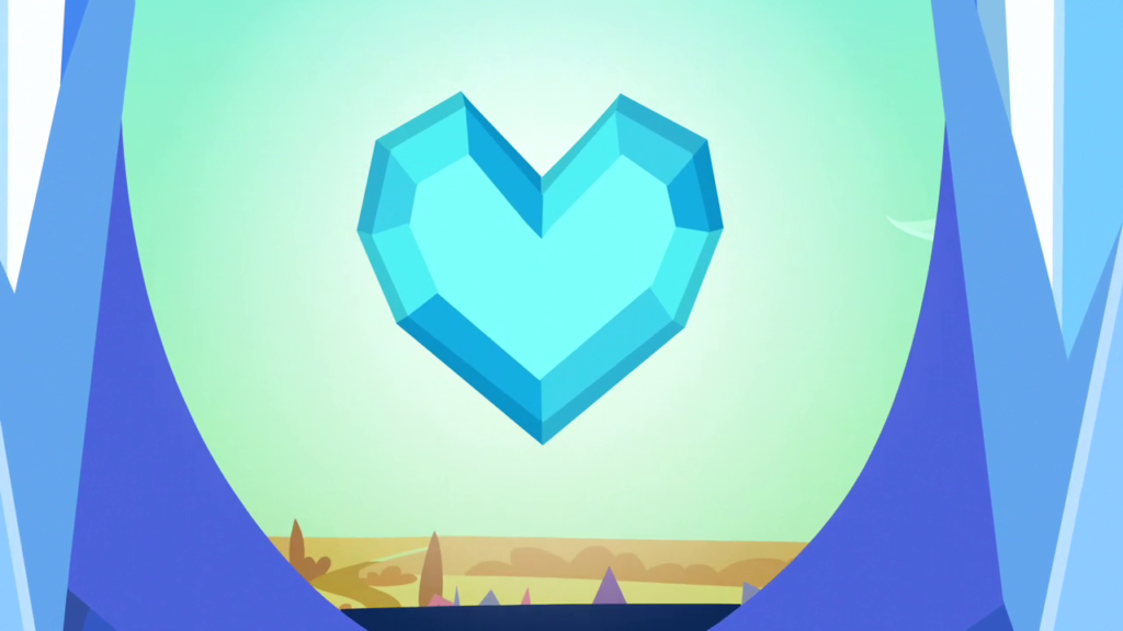 纯净的水晶之心